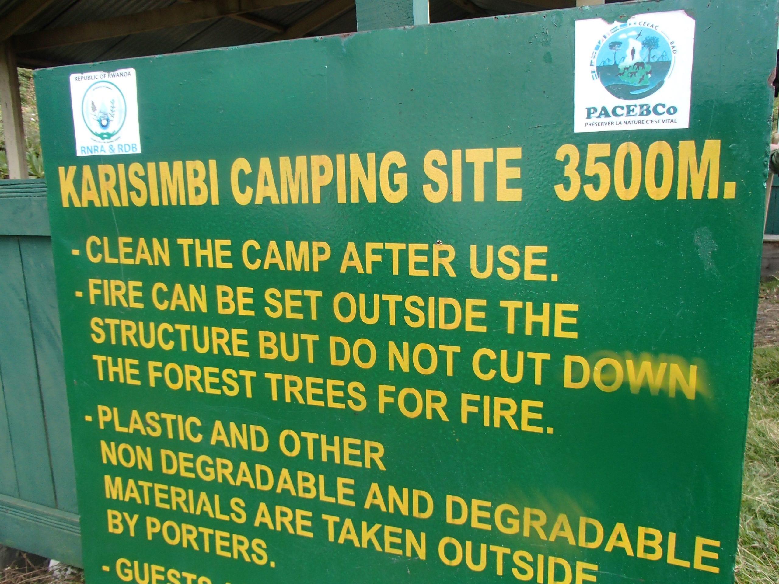 Karisimbi Camping Site