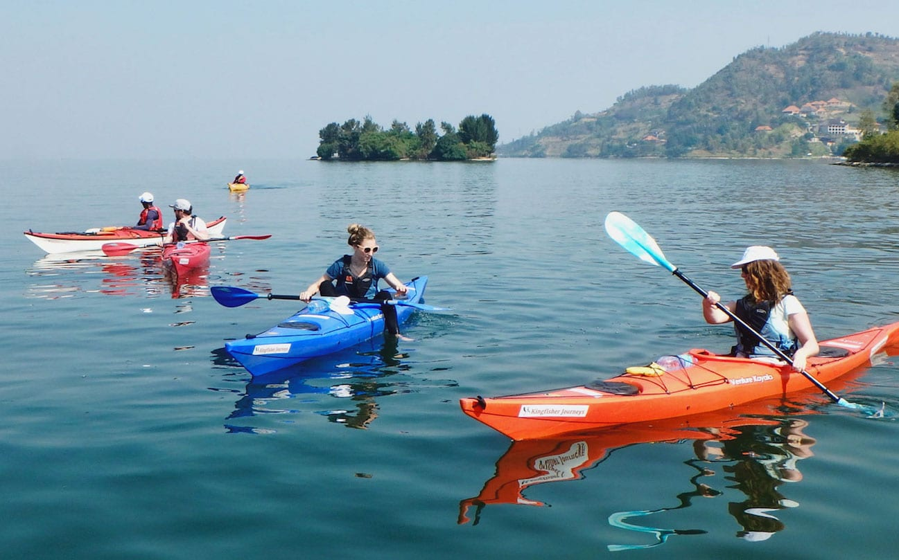 Kayaking in Gisenyi