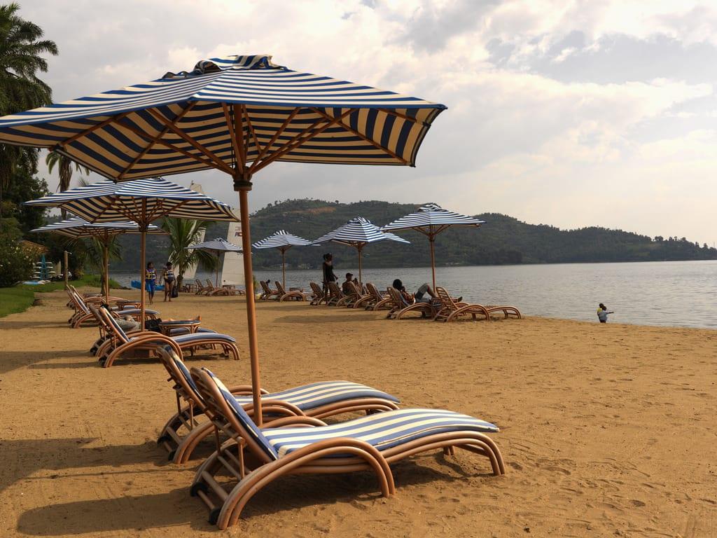 Lake Kivu beach