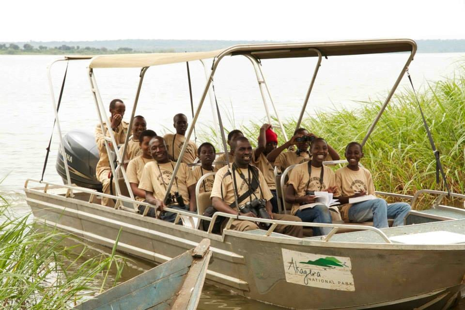Akagera national park boat ride