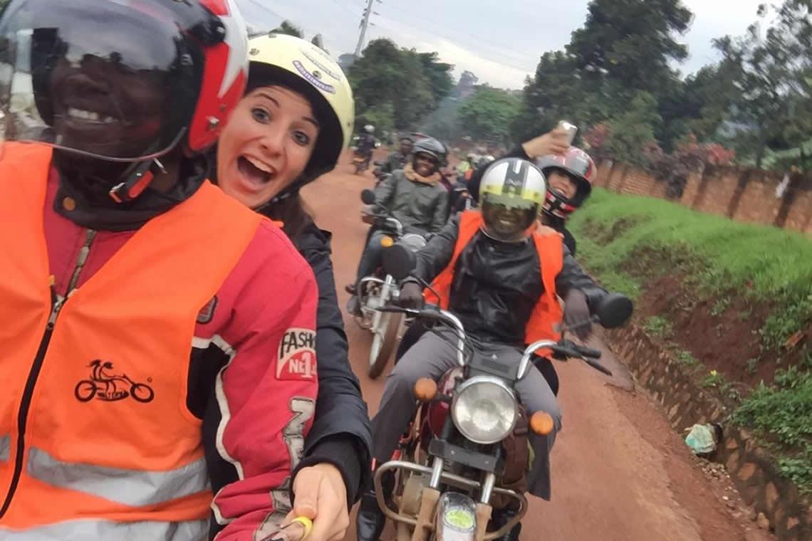 Kampala Boda boda city tour