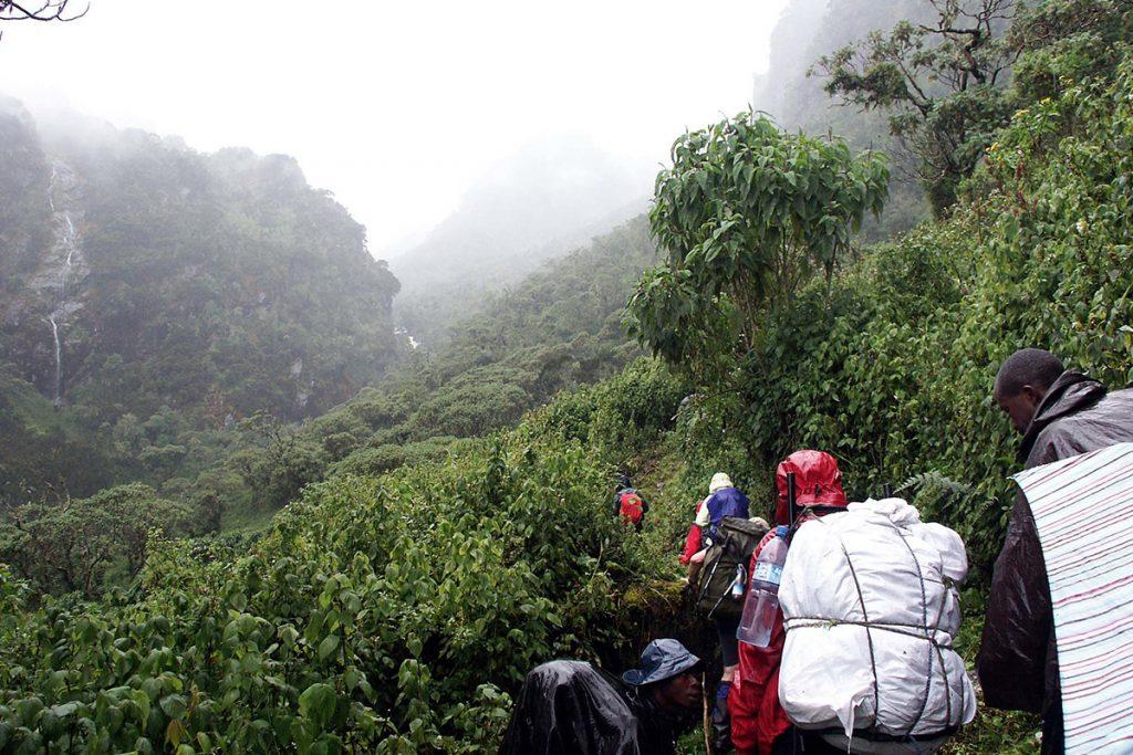 3 days trekking Rwenzori